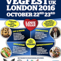 VegFestUK London poster