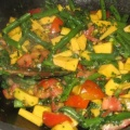 colourful vege stirfry