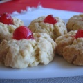 cherry shortbread