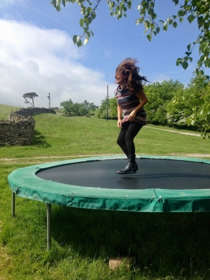 LC on trampoline