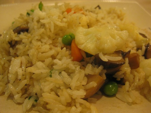 vege_fried_rice_at_Golden_Claypot