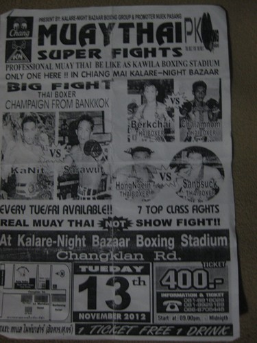 Muay_Thai_fight_poster_in_Chaing_Mai