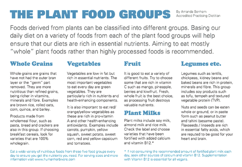 Plant_Food_Groups