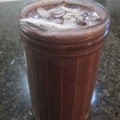choc cherry smoothie