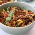 inca red quinoa stirfry