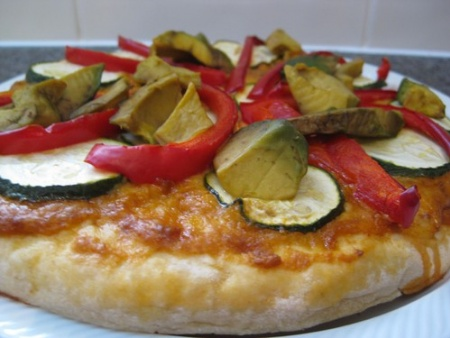 Satay_Pizza_cooked