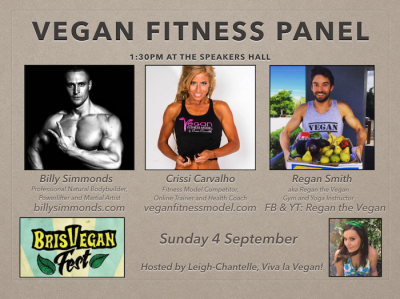 Vegan Fitness Panel by LC