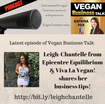 Leigh-Chantelle Vegan Business Media podcast