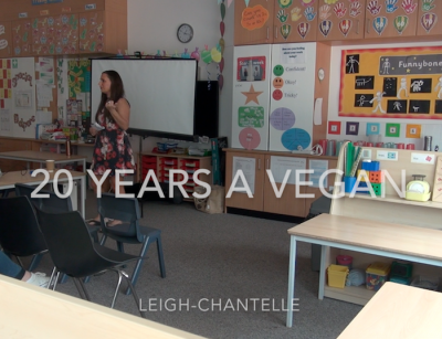 20 Years a Vegan Manchester